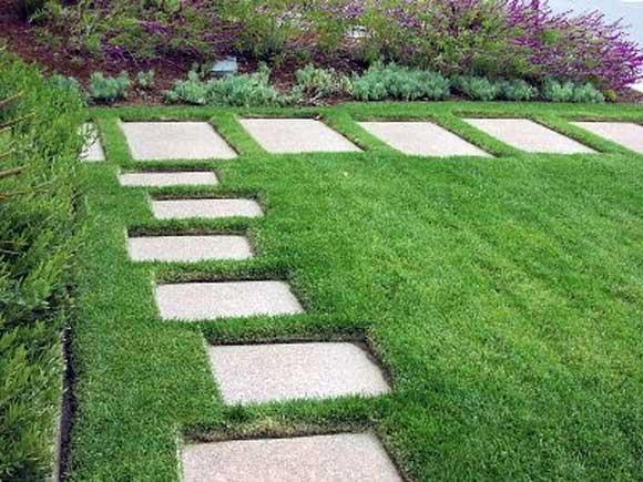 Một số công trình cỏ nhân tạo sân vườn